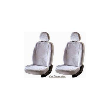 Car Seat Cover For Fiat Grand - White - CAR_1SC1WHT204