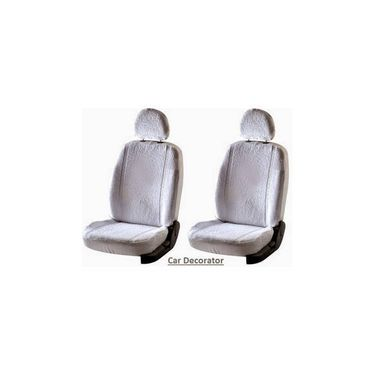 Car Seat Cover For Ford Endeavor - White - CAR_1SC1WHT208