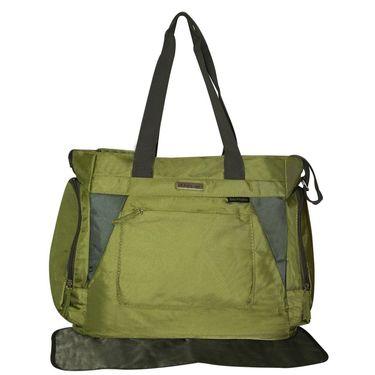 Wonderkids Green Baby Diaper Bag