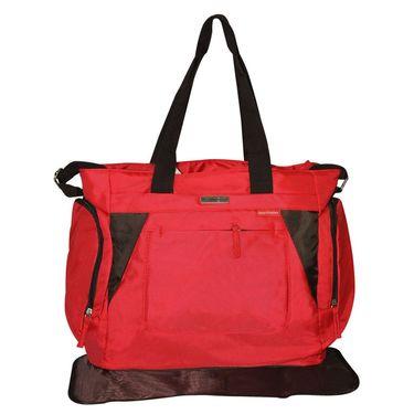 Wonderkids Red Baby Diaper Bag