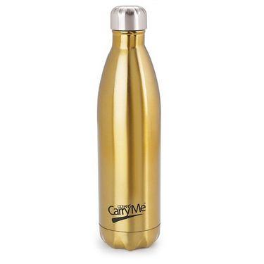 CarryMe Aqua Hot & Cold Flask 750 ml Bottle - Golden