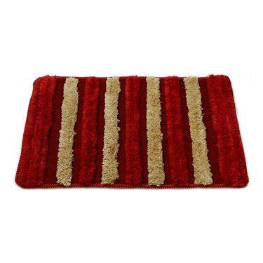 Combo of 100% Cotton Double Bedsheet, Blanket, Curtain Set & Door Mat-CN_1260