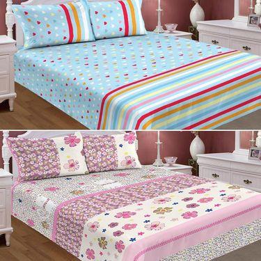 Set Of 2 Carah Exclusive Mosquito Repellent Double Bedsheet