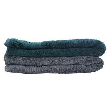 Carah Set of 2 Large size multicolor towel CRH-TWL-003