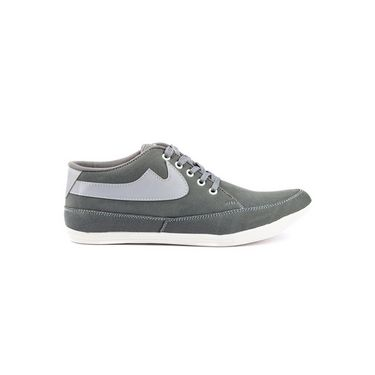 Kohinoor Footwears Canvas Casual Shoes CS02_Gray
