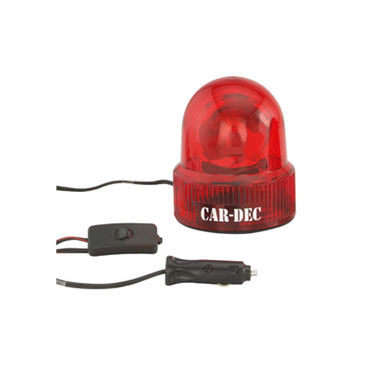 Car-Dec VIP Light Round - Red