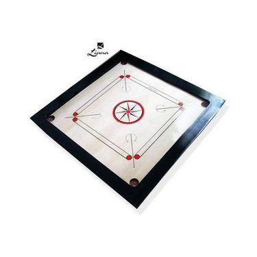 Professional tournament Liana Carrom Board (30x30 Inches, 3inch Border)