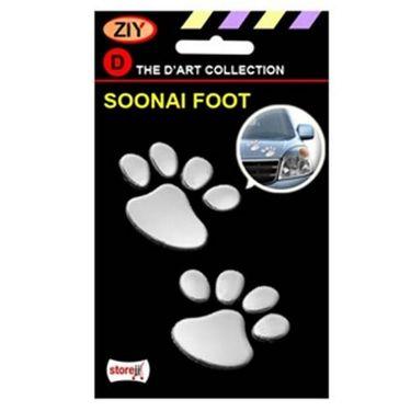 Cat Foot Mark Sticker + Self Fix