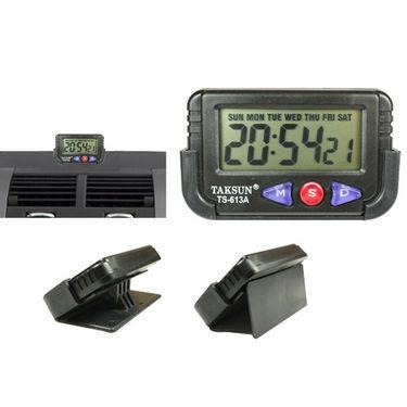 Combo of Coido Car Vacuum Cleaner + Multipurpose Duster + Car Dashboard/Office Desk Alarm Clock + Stopwatch
