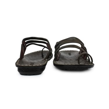 Columbus Suede Mehndi Sandals -2511