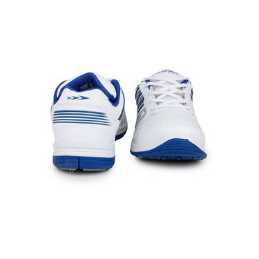 Columbus White & Blue Sports Shoe C27