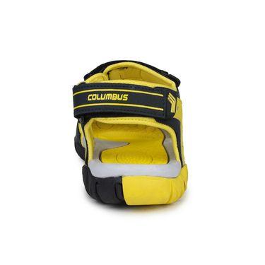Columbus PU Grey Black Yellow Floater -S-101