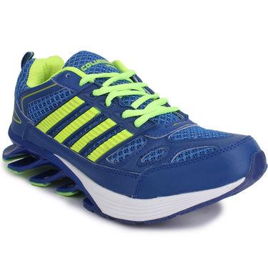 Columbus Blue & Green Sports Shoe C01