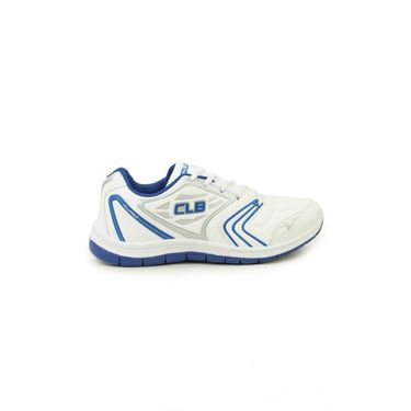 Columbus White & Blue & Grey Sports Shoe C22