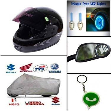 Complete bike safety combo