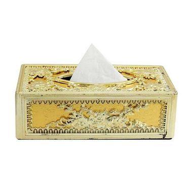 AutoStark Royal Full Golden Designer Tissue Holder Box