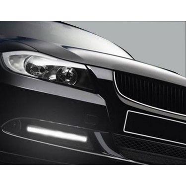 AutoStark Slim Daytime LED DRL Lights WHITE Set Of 2