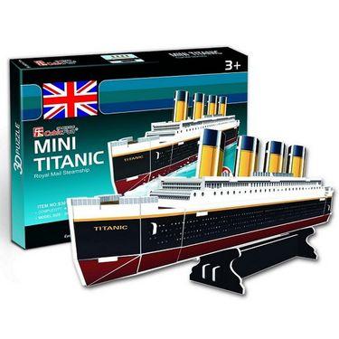 Cubic Fun 30pcs 3D Puzzle Mini Titanic MODEL World's Great Architecture