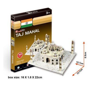 Cubic Fun 39pcs 3D Puzzle Taj Mahal-World's Great Architecture
