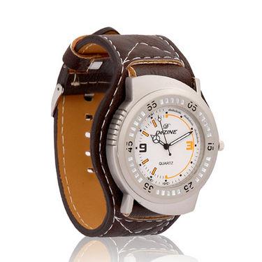 DEZINE DZ-GR100 Wrist Watch for Men - White