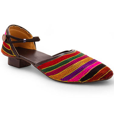 Branded Womens Bellies Multicolor -MO318