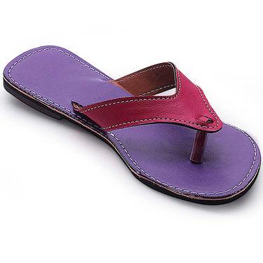 Branded Womens Sandal Purple -MO340