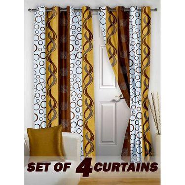 Set of 4 Printed Door curtain-7 feet-DNR_2_2008