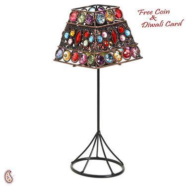 Square Lamp Shade Design Tea Light Holder