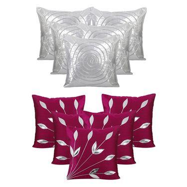 Dekor World Set of 10 Designer Printed Cushion Cover-DWCB-190