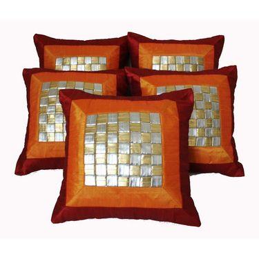 Set of 5 Dekor World Design Cushion Cover-DWCC-12-032-5