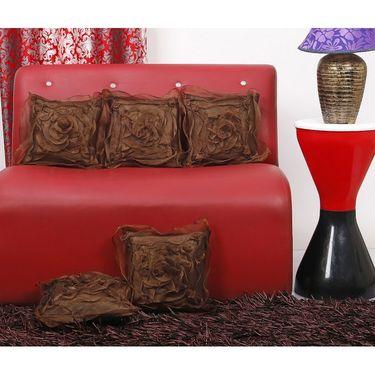 Set of 5 Dekor World Design Cushion Cover-DWCC-12-112
