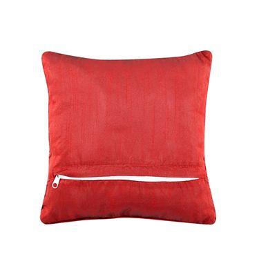 Dekor World studded Leaf Cushion Cover (Pack of 5)-DWCC-12-147-5
