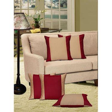 Set of 5 Dekor World Design Cushion Cover-DWCC-12-67