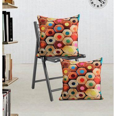 Set of 2 Dekor world Digital Cushion Cover-DWCC-24-095
