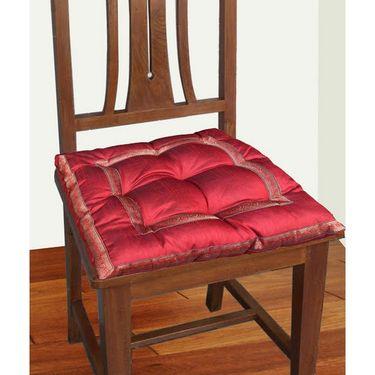 Dekor World Sprial Zari Lace Chair Pad-DWCP-023