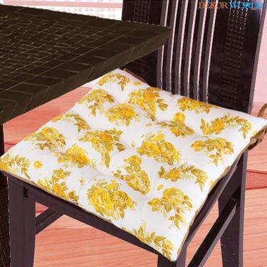 Dekor World Cotton Printed Chair Pad-DWCP-032