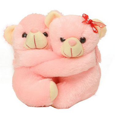Valentine Hugging Stuff Toy Teddy Bear - 20 Cms