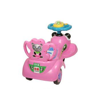 Dealbindaas Magic Dlx Big Swing Magic Car - Pink