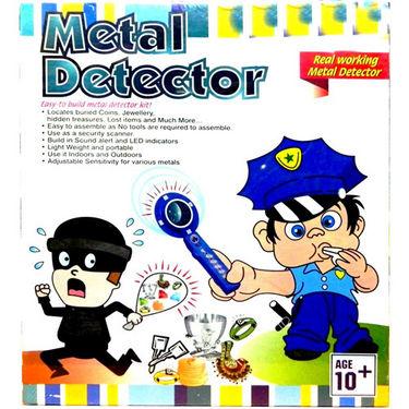Kids Real Working Metal Detector Educational Toy Kit