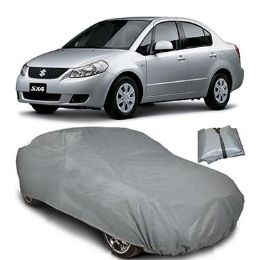 Digitru Car Body Cover for Maruti Suzuki SX4 - Dark Grey