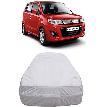 Digitru Car Body Cover for Maruti Suzuki Stingray - Silver