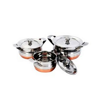 Elegante 3 - Piece Cookware Set  EHPEPCS0016