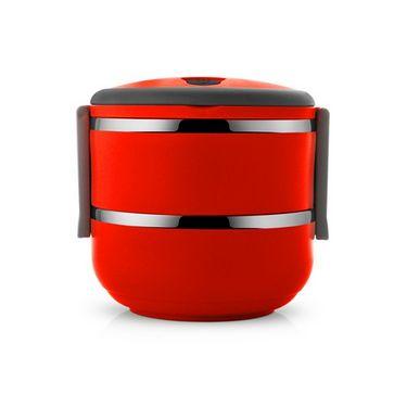 Silver Kris Lunch Box 2 Layer (Red) EHPSKLBR0065