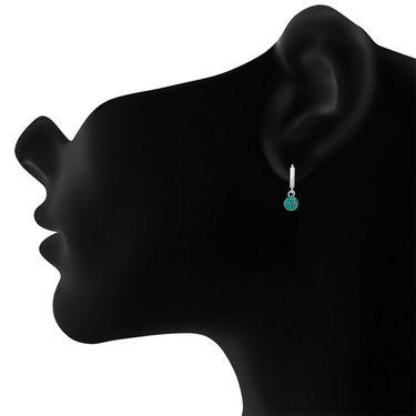 Mahi Rhodium Plated Artificial Earrings_Er1104028rgr