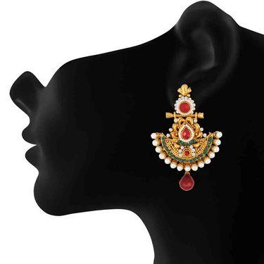 Branded Gold Plated Artificial Earrings_Er30005g