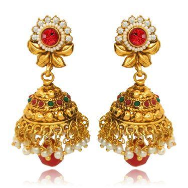 Branded Gold Plated Artificial Earrings_Er30009g