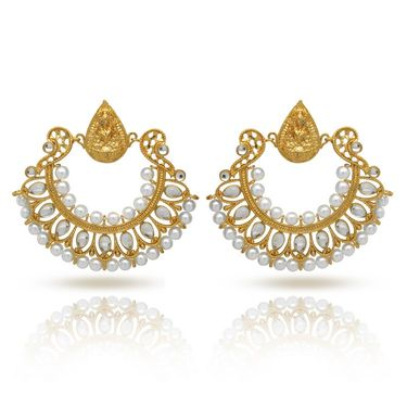 Branded Gold Plated Artificial Earrings_Er30033g
