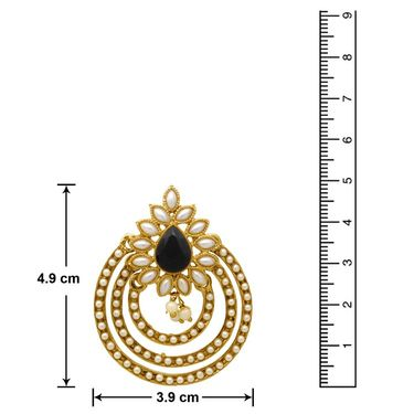 Branded Gold Plated Artificial Earrings_Er30046gbla