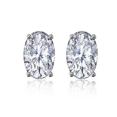 Mahi Rhodium Plated Artificial Earrings_Er3102003whi