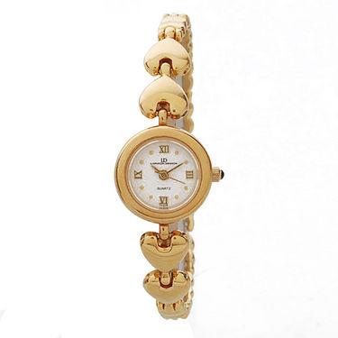 EX London Design Jewellery Wrist Watch - White